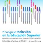 1er Congreso Inclusión Ed. Superior
